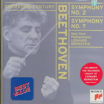 BEETHOVEN:SYMS. 02 & 07 BY BERNSTEIN/NEW YORK P (CD)
